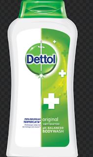 Panduan Mencuci Tubuh dengan Dettol Antiseptik