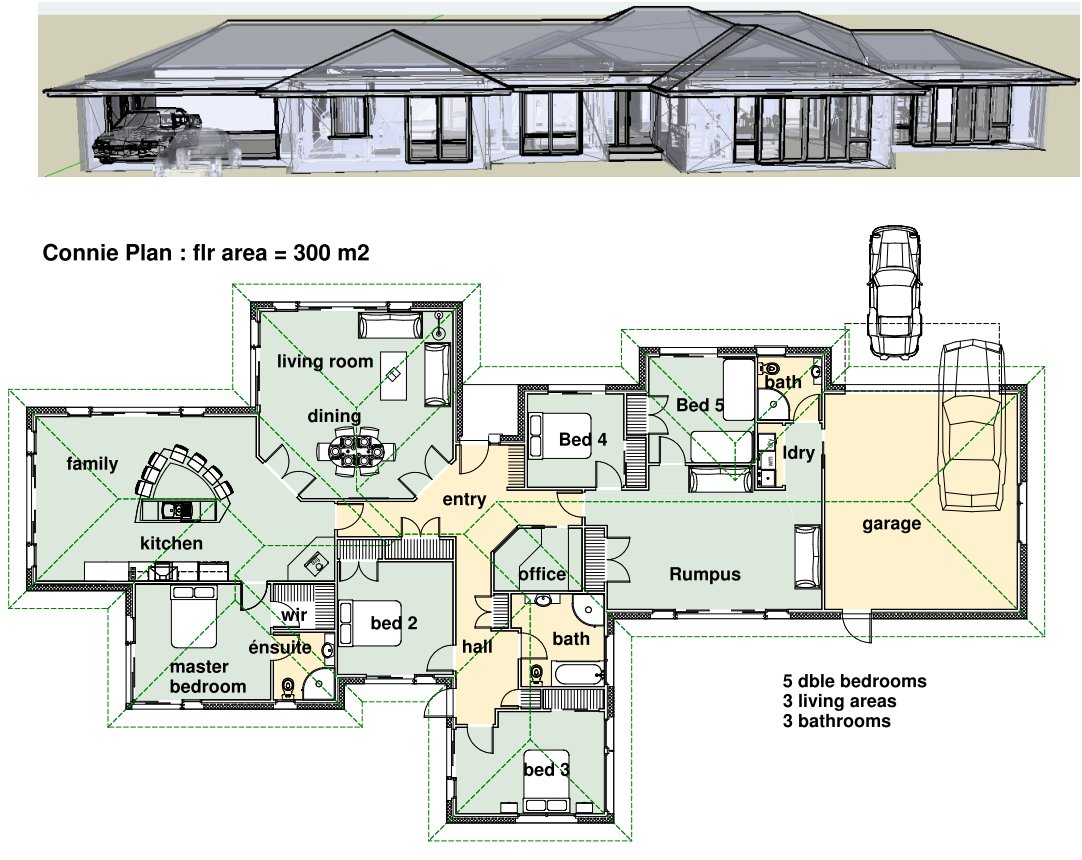 70 Desain Rumah 6 Kamar Tidur 1 Lantai Terupdate Tech Desain