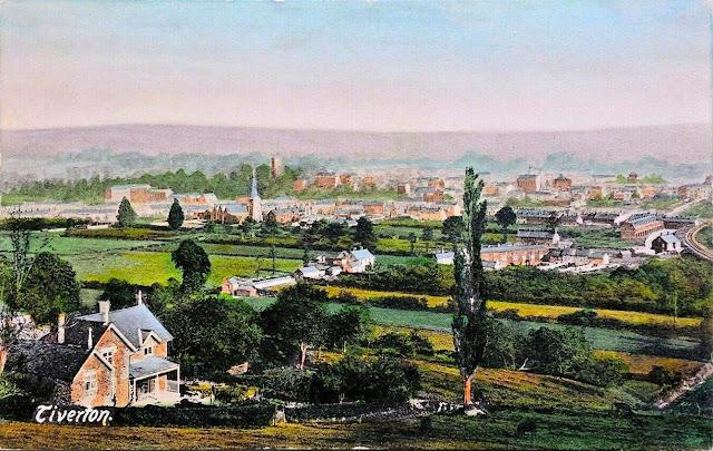 Postcard of Tiverton c.1900