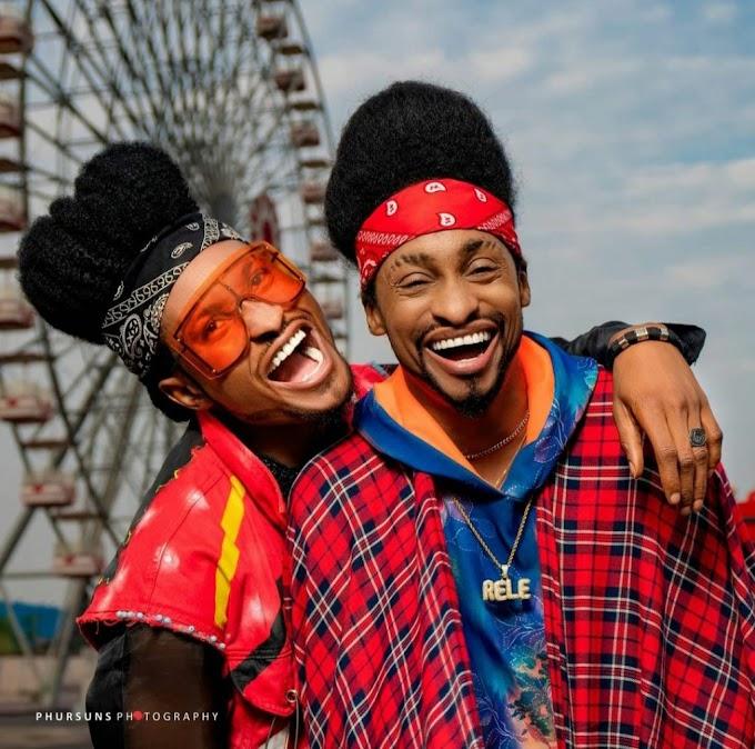 Checkout Denrele Edun Photos With His Doppelganger