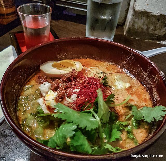 Restaurante Momosan Ramen & Sake, Nova York