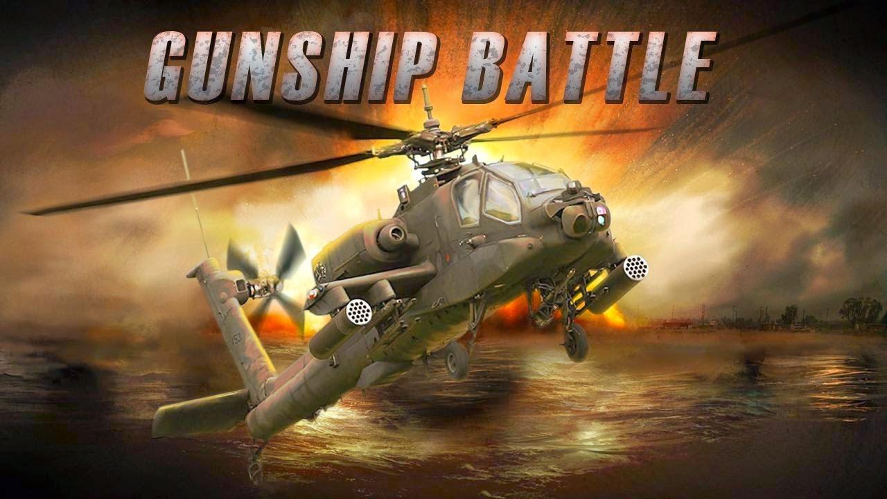 لعبه GUNSHIP BATTLE: HELICOPTER 3D v2.2.90 مهكره جاهزه (تحديث)