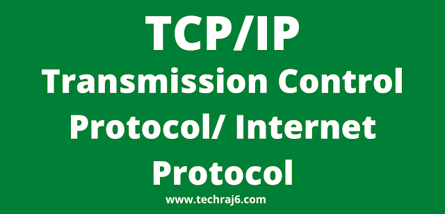 TCP/IP full form, What is the full form of TCP/IP