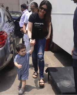 Taimur Ali Khan's infectious smile with mother Kareena at a suburban studio!.jpg