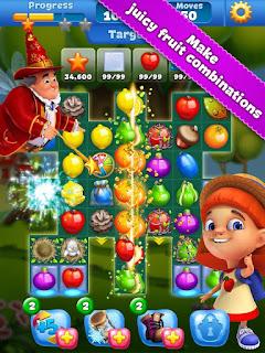 Game Fruit Land Match3 Apk Mod Terbaru Gratis