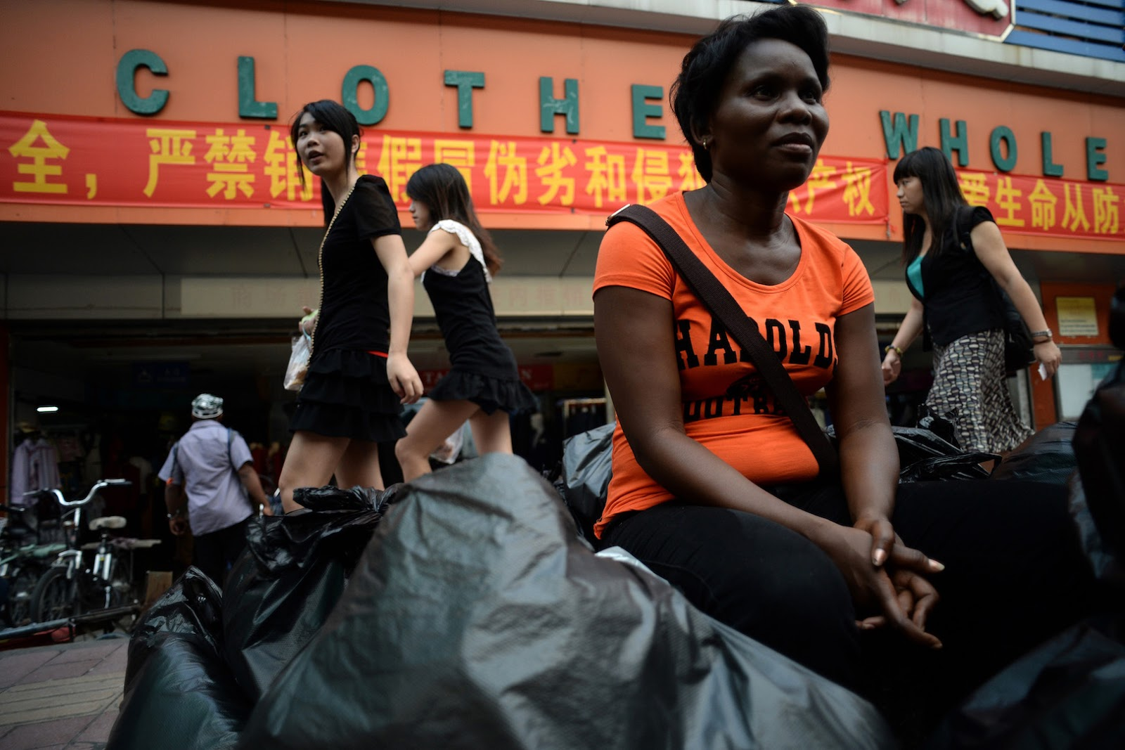 Africans In China Stranded In Streets As Landlords Claim They Spread COVID-19