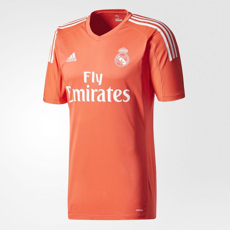 70d683654dd Real Madrid 17-18 Goalkeeper Home & Away Kits Released - Footy Headlines