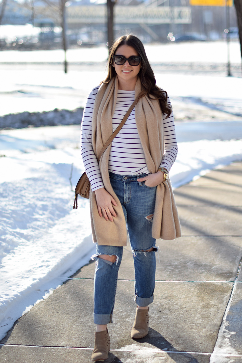 Casual outfit for winter on Seaside Styled.