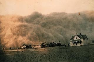 Dust storm 1930s
