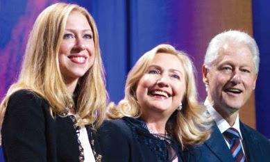 Foto de Bill Clinton con sus amores