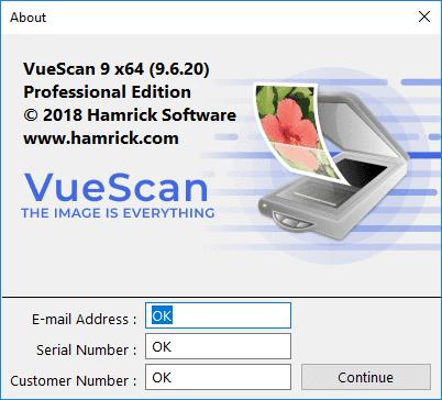 VueScan 9.6.20 Pro Crack Serial Key Number Keygen Patch
