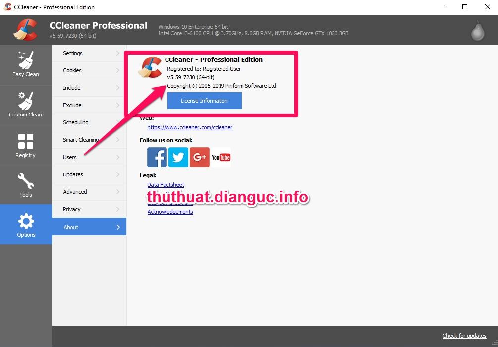 Download CCleaner v5.59.7230 Full Key miễn phí mới nhất