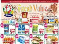Fresh Value This Week December 1 - 7, 2017