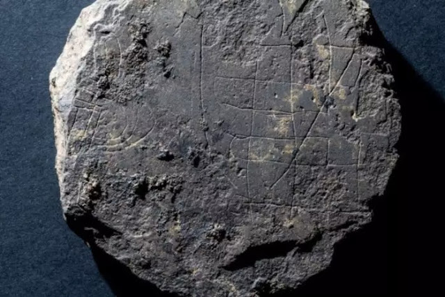 Medieval games board found in search for Pictish monastery
