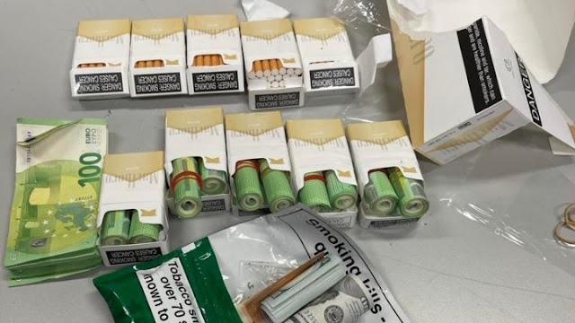 Ήρθε από το Ντουμπάι με 30.000 ευρώ κρυμμένα σε πακέτα τσιγάρων