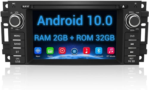 AWESAFE Android Car Stereo Radio Touch Screen