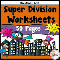 Super Division Worksheets