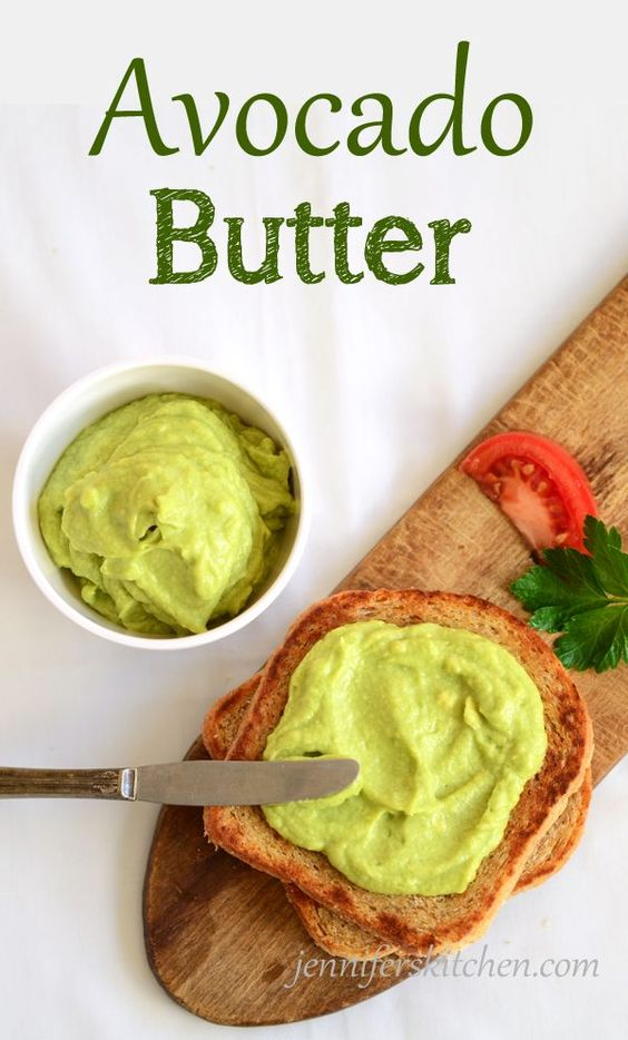 Which is More Fattening – Butter or Margarine? And a recipe for Avocado Butter