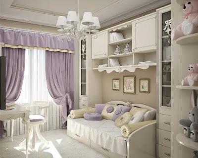 Уютные и современные детские комнаты.