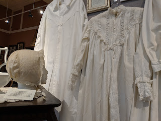 VICTORIAN SECRETS, a look at Victorian era undergarments from corsets to petticoats, is available for viewing through Saturday August 10