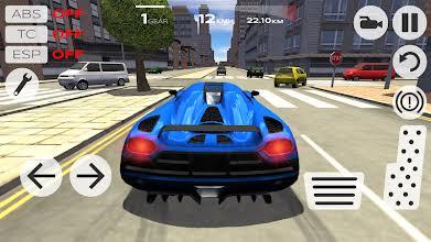 Extreme Car Driving Simulator mod apk gameplay