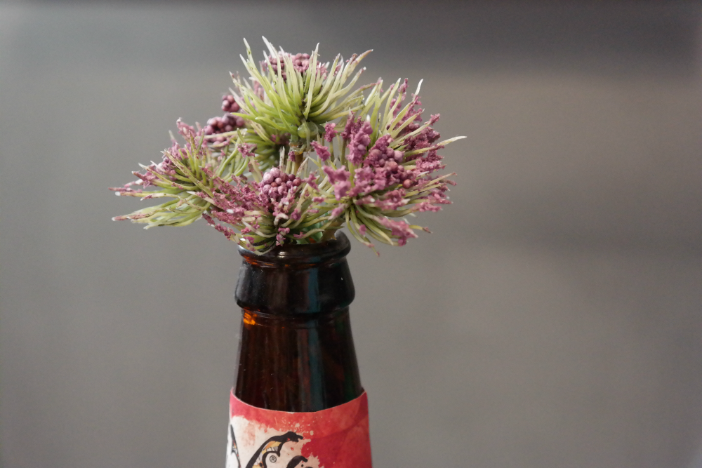 Adelphi Kitchen Aberdeen: Heather in a Bottle Decor