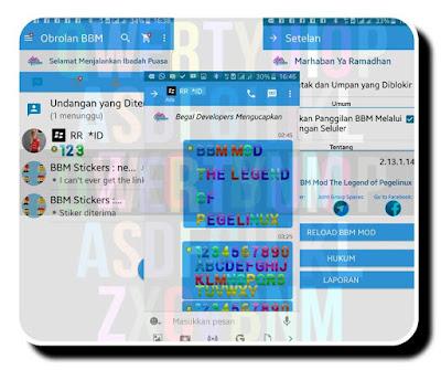 BBM Mod Legend Double Style V2.13.1.14 APK