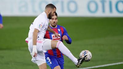 ملخص واهداف مباراة ريال مدريد وايبار (3-1) الدوري الاسباني