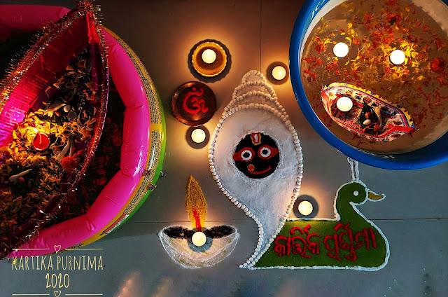 Boita Bandana at Home and Muruja or Rangoli by Pragyan Mohapatra