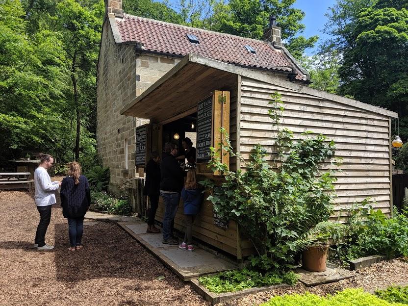 Falling Foss Tea Garden (near Whitby) - serving hatch