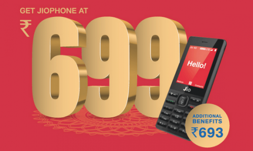 Jio phone available in Rs. 699