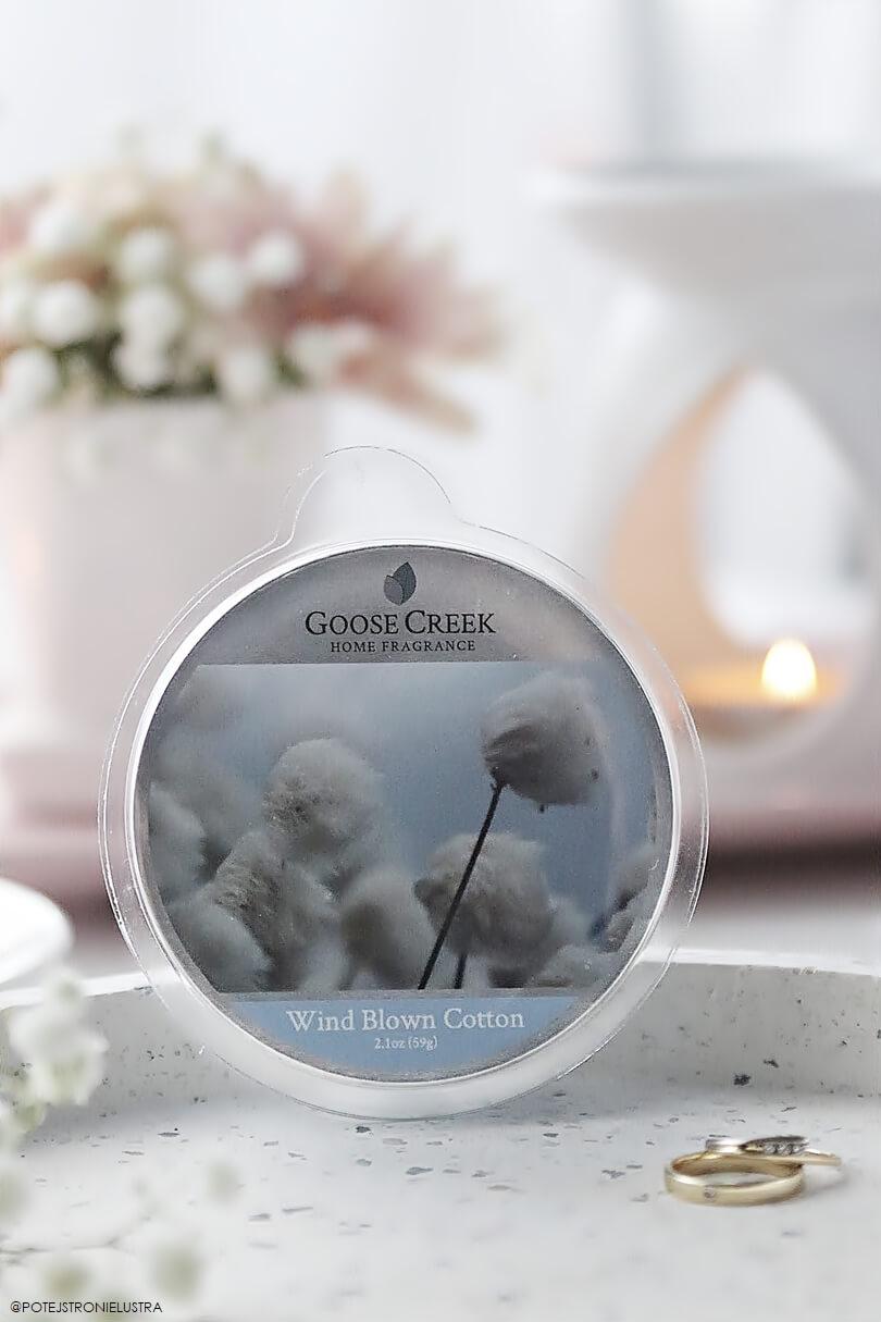 wosk zapachowy goose creek wind blow cotton nowość wiosna-lato 2019