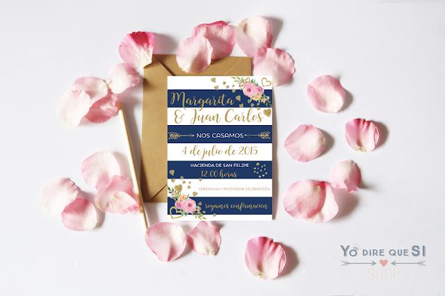 Tendencias en invitaciones de boda 2017. Parte II