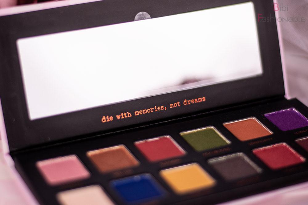 Lethal Cosmetics x Jolina Pessed Powder Palette Details