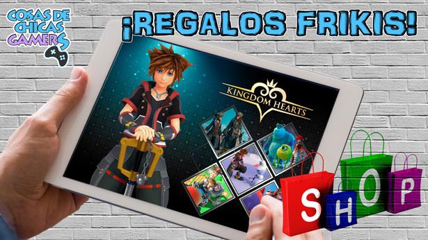 Regalos frikis de la saga Kingdom Hearts