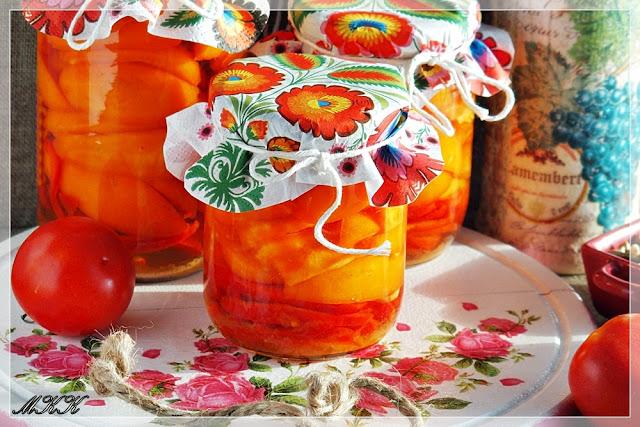 najlepszy, sprawdzony przepis na sałatkę z pomidorów na zimę