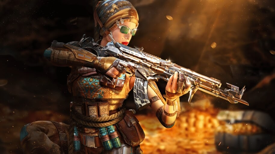 COD Mobile, Outrider, Mystic, Skin, 4K, #3.2736