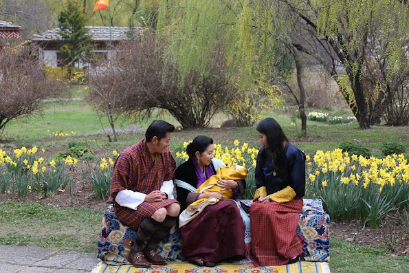 King Jigme Khesar Namgyel Wangchuck shared in his Facebook account new photos taken at Lingkana Palace