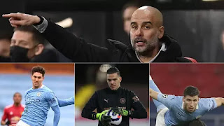 Guardiola's Manchester City are a Champions League wall