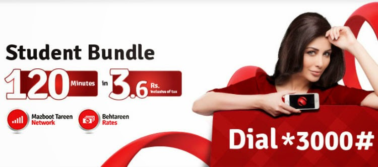 Mobilink Student Offer 120 free minutes in just rs. 3 and facebook