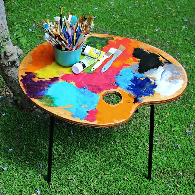 Artist Side Table DIY