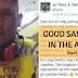 This Cebu Pacific security guard is a true-blue modern day Good Samaritan