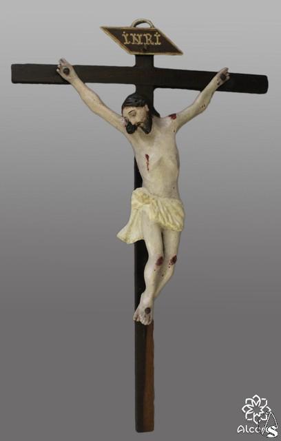 Descubierto un Cristo Americano de pasta de maíz en el Santo Ángel