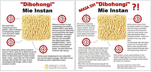 Bahaya makan Mie Instan bagi Kesehatan, Wajib Tahu!