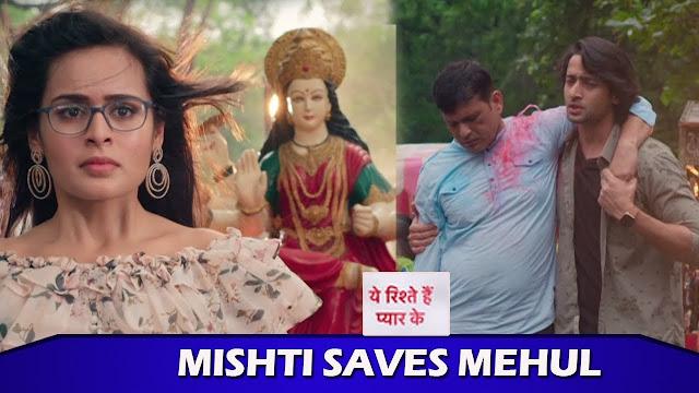 Spoiler Alert : Abeer returns home on birthday with Mehul Mishti in Yeh Rishtey Hai Pyaar Ke