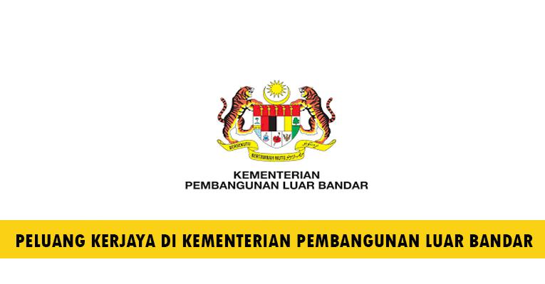 Kekosongan Terkini di Kementerian Pembangunan Luar Bandar