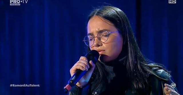 Olivia Alexandru Romanii au talent 3 Aprilie 2020