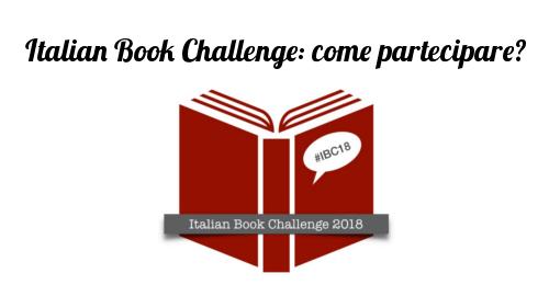 logo italian book challenge
