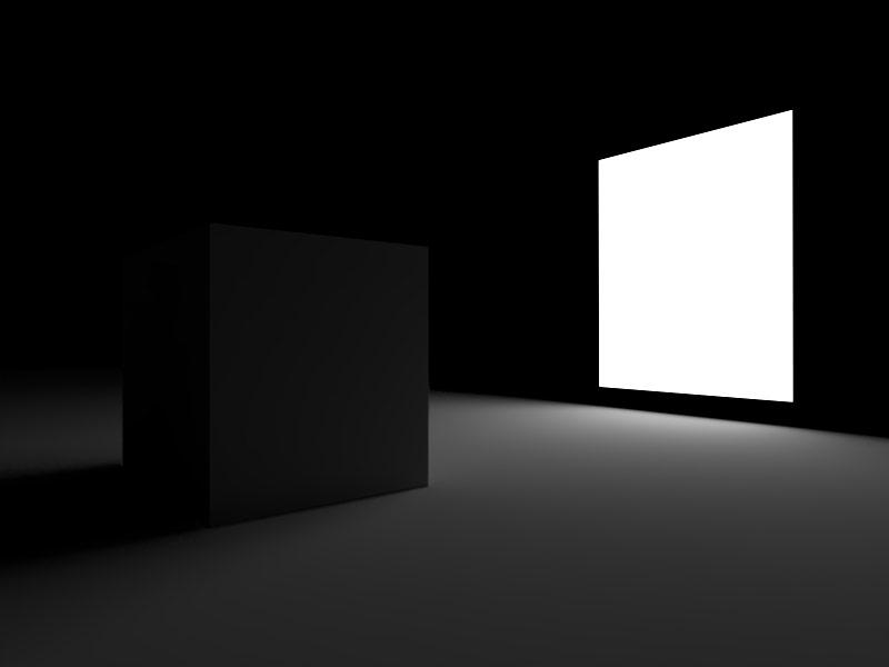 Vray Lighting dengan Rectangle Light di Sketchup