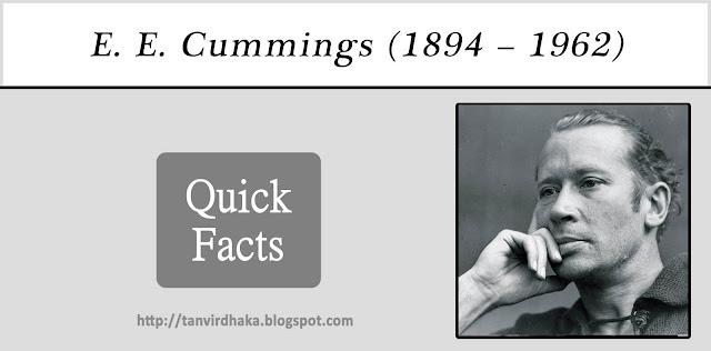 E.E. Cummings Quick Facts